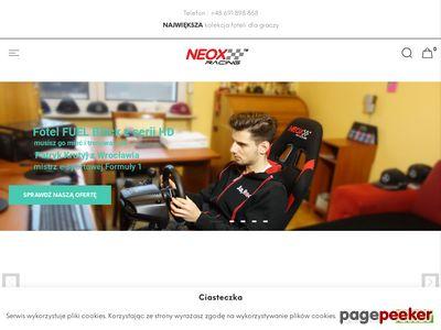 Fotel dla gracza gamingowy - neox-racing.com