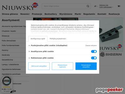 Niuwsky - dystrybucja materiałów budowlanych