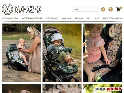 Kocyki dziecięce Minky - Makaszka