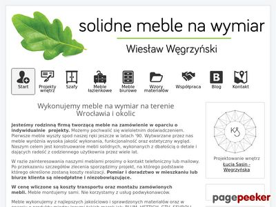 Meble na wymiar Wrocław - kuchnie, szafy, łazienki