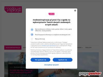 Inspiracje modowe - www.modoweinspiracje.pl
