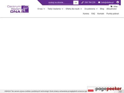 Centrum Badań DNA - laboratorium genetyki medycznej
