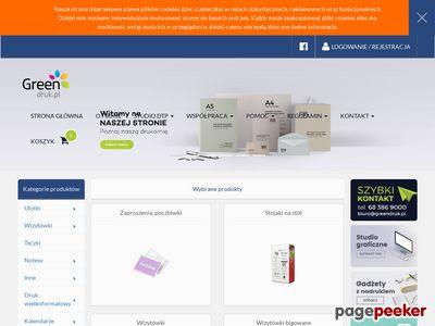 Tania Drukarnia Internetowa GreenDruk.pl